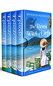 The Raven Witch of Corfu: A Greek paranormal romance box set with a witch in Corfu Greece