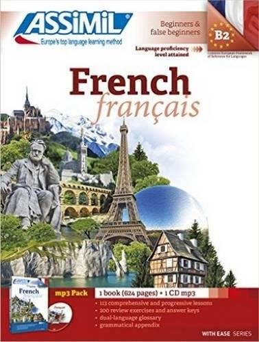 Assimil French Pack [ Book+1 CD PM3 ] French for English speakers (French Edition)