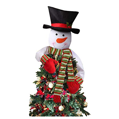 Outdoor Lighted Snowman Head in US - 3