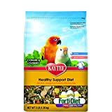Kaytee Forti-Diet Pro Health Egg-Cite! Conure & Lovebird Food, 3-lb bag
