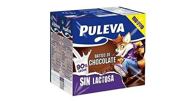 Puleva Batido de Chocolate sin Lactosa - Pack 6 x 200 ml: Amazon.es: Alimentación y bebidas