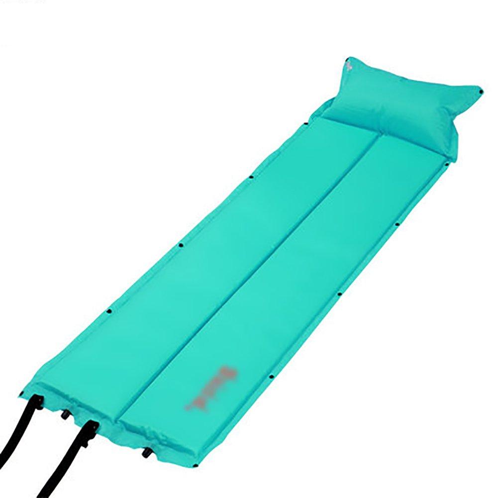Im Freien Starke Wasserdichte Matte Single Sleeping Pad Luftbett automatische aufblasbare Kissen Zelt Matte
