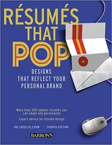 Resumes that Pop!: Designs that Reflect Your Personal Brand ...