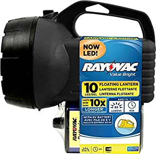 RAYOVAC Value Bright 85-Lumen 6V 10-LED Floating Lantern Battery with Battery, BEPLN6V-BTA (B00C1UXCX4) | Amazon price tracker / tracking, Amazon price history charts, Amazon price watches, Amazon price drop alerts
