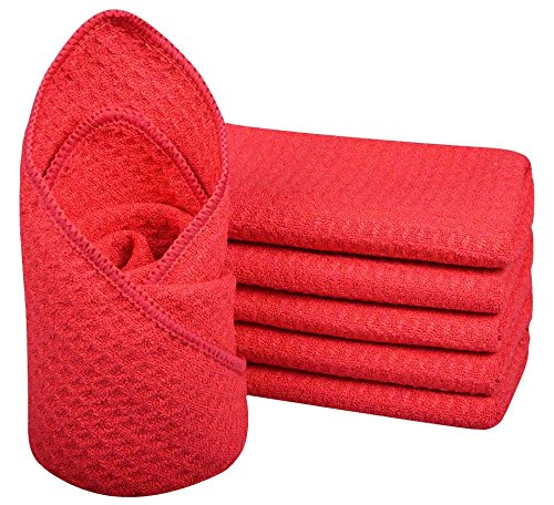 6-pack-12x12-microfiber-waffle-weave-washcloths-facial-cloth-dish-cloths-dishcloths-household-cleani