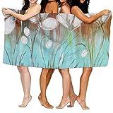Jaylut 32 Inch51 Inch Bath Towel Dance Buttercups Soft High Water Absorption Wrap Washcloths