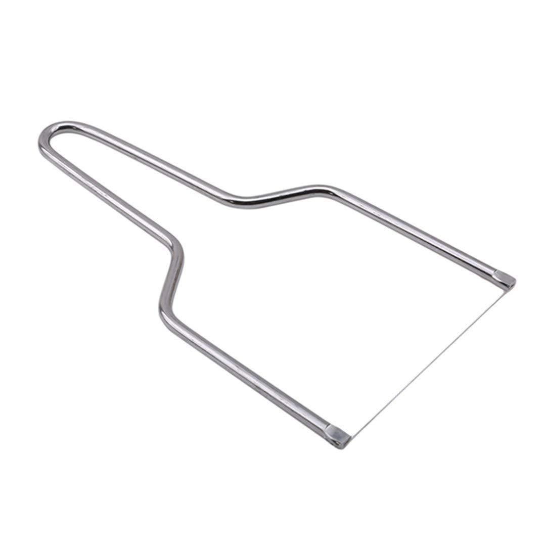 Faliya Stainless Steel Wire Cheese Slicer Handheld Butter Cutter Kitchen Gadget