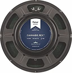 Eminence Patriot Cannabis Rex 12'' Guitar Speaker with Hemp Cone, 50 Watts at 8 Ohms