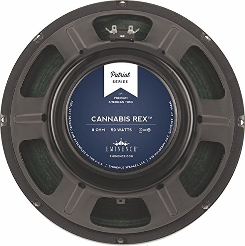 Eminence Patriot Cannabis Rex 12'' Guitar Speaker with Hemp Cone, 50 Watts at 8 Ohms by Eminence