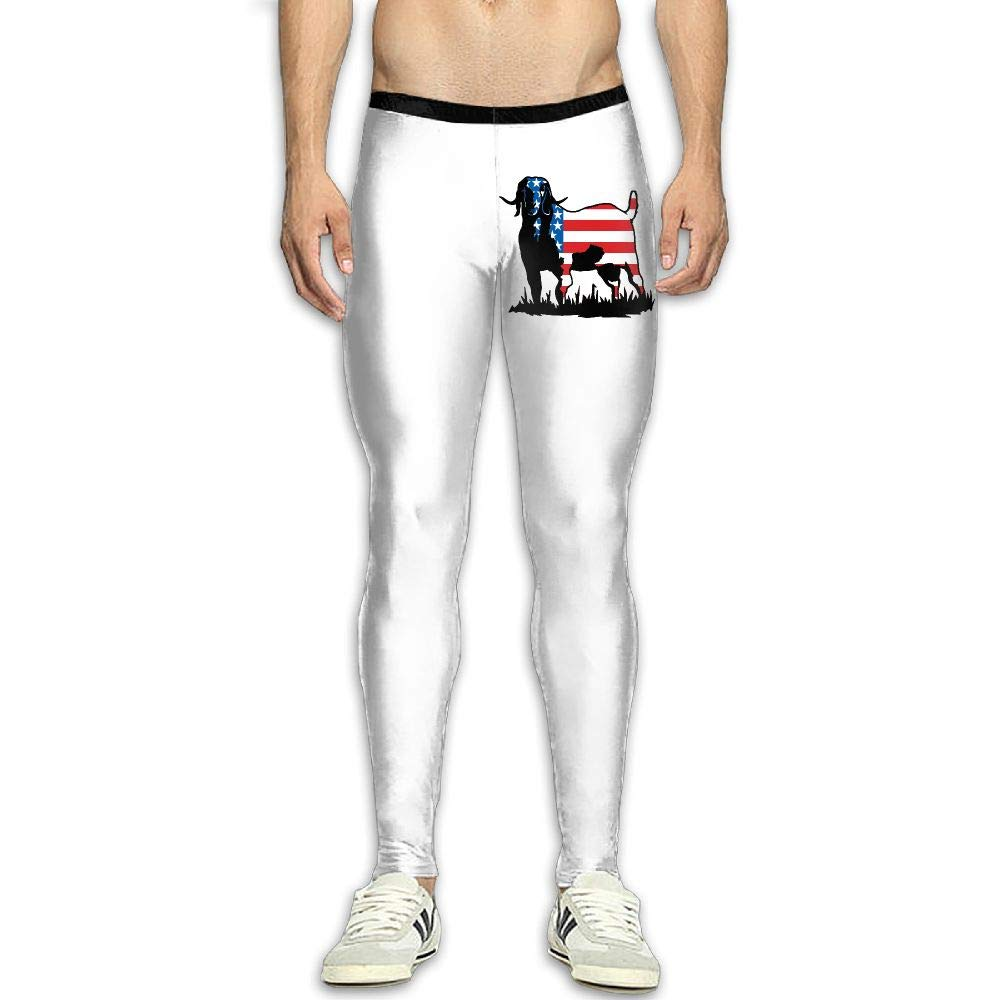 Amazon.com: NKUANYJYDKN7 Mens Colorrado Boer Goat Flag Yoga ...