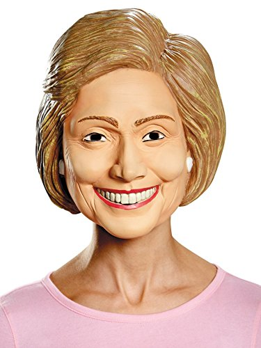Clinton Mask (Disguise Costumes Hillary Deluxe Mask, Adult)