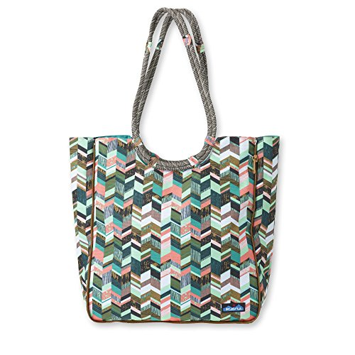 KAVU Market Bag, Coastal Blocks, One Size