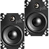 Polk Audio - 4 X 6 Marine Speakers with Bilaminate-composite Cones (Pair)
