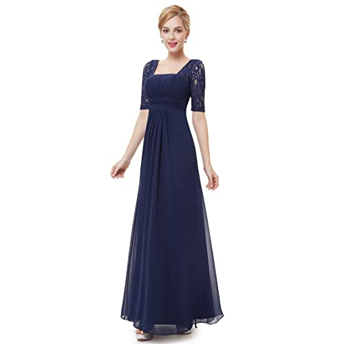 Long Empire Waist Dress: Amazon.com