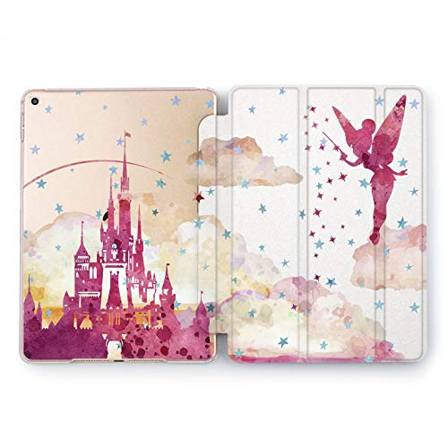(Wonder Wild Red Tinker Bell iPad Case 9.7 Pro inch Mini 1 2 3 4 Air 2 10.5 12.9 2018 2017 Design 5th 6th Gen Clear Print Smart Hard Cover)