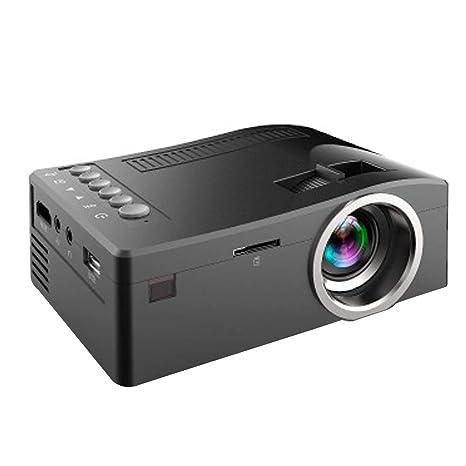PFMY.DG Mini Portátil con Cable LED Proyector LCD Pantalla Teatro ...