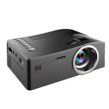 Amazon.com: PFMY.DG Mini Portable Wired LED LCD Projector ...