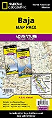 • Waterproof • Tear-Resistant • Travel MapThe National Geographic Adventure Baja Map Pack is the perfect companion for anyone who wants to travel in the Mexican states of Baja California and Baja California Sur. The Map Pack includes two Adve...
