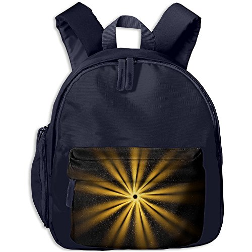 GoldenGolden Round Children's Backpack Adjustable Shoulder Straps Bookbag