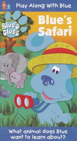 Blue's Clues - Blue's Safari [VHS] by Nickelodeon