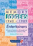 Memory Joggers: Entertainers (Colourcards)