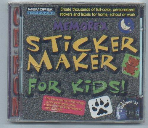 Amazon com: Memorex Sticker Maker for Kids: Software