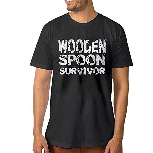 F.Pansy Wooden Spoon Survivor Men's Classic Short Sleeve (Debbie Reynolds Halloween)