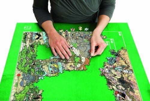 Jumbo Spiele 17691 Puzzle & Roll Puzzlematte bis 3000 Teile Puzzlezubehör