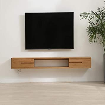 Mueble TV de pared Mueble de pared colgante Estante de la pared ...