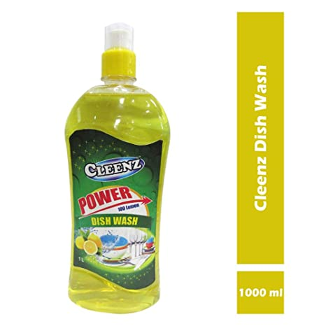 Cleenz Dishwashing Liquid Soap for Kitchen, 1 L