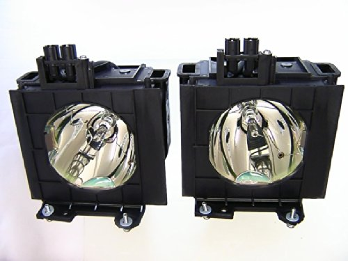 Diamond Dual Lamp ET-LAD55W for PANASONIC Projector with a Ushio bulb inside housing