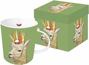 Paperproducts Design Garden Alpaca design Mug In A Gift Box, Vicki Sawyer
