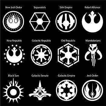 Amazon Star Wars Galactic Empire Vynil Car Sticker Decal