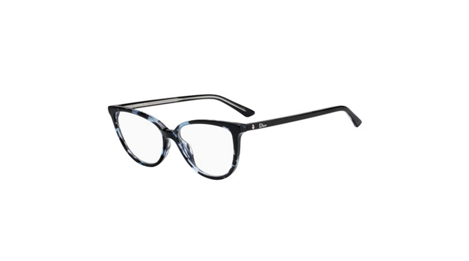 fa1db870e95 Amazon.com  Authentic Christian Dior Montaigne 33 0JBW Blue Havana  Eyeglasses  Clothing