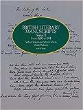 British Literary Manuscripts, , 0486241254