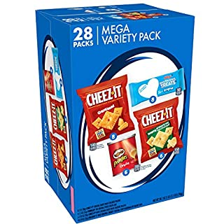 Mega Variety Pack, Snacks, Variety Pack, 28.1oz Box (28 Count)