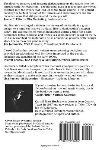 Tree of justice carroll mart sinclair 9780692293515 amazon tree of justice carroll mart sinclair 9780692293515 amazon books fandeluxe Gallery