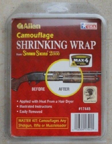 Allen Snake Skins Camo Shrink Wrap Kit for Shotguns (Snakeskin Carrier)