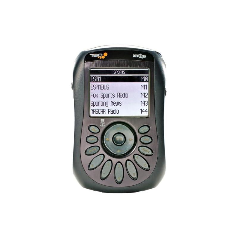 Tao xm2go Portable Satellite Radio Recei
