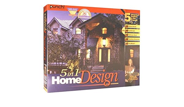 Punch 5 In 1 Home Design: Amazon.ca: Software
