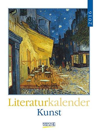 Kunst 2016: Literatur-Wochenkalender