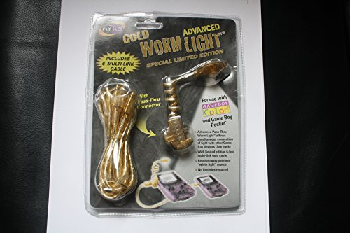 Wormlight Gold GameBoy Color Game Boy