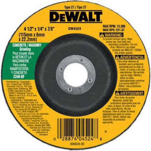 DEWALT DW4524 Concrete Masonry Grinding