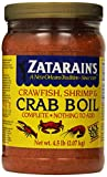 Zatarains Pre-Seasoned Crab and Shrimp Boil 72 Ounce