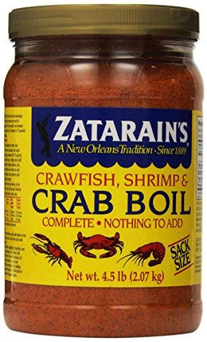 Crab Seasoning (Zatarains Pre-Seasoned Crab and Shrimp Boil 72 Ounce)