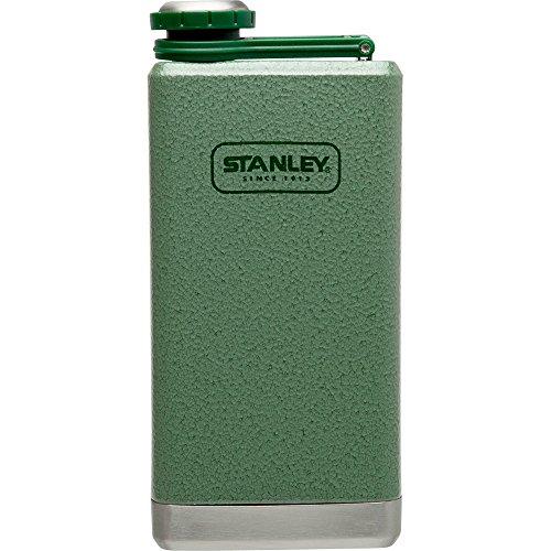 Stainless Flask - Stanley Adventure Stainless Steel Flask 8oz Hammertone Green