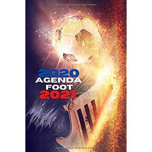 Agenda foot 2020 2021: Agenda foot scolaire 2020 2021 | Agenda semainier journalier foot | Agenda scolaire pour primaire… 11