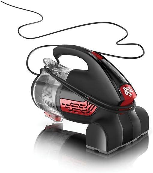 Dirt Devil Hand Vac 2.0 0.4L Negro - Aspiradora (Sin bolsa, 0,4 L, Negro, Secar, Hogar, Alfombra, Suelo duro): Amazon.es: Hogar