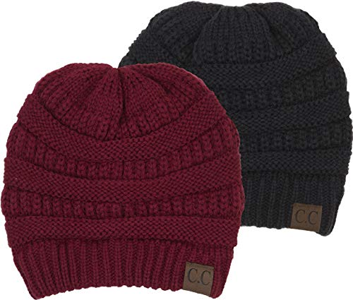 Men's and Women's Cable Knit Beanies