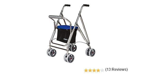 Andador para personas mayores   Rollator de aluminio con asiento ...